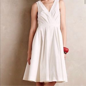 {Anthropologie} Collette Dinnigan White Dress